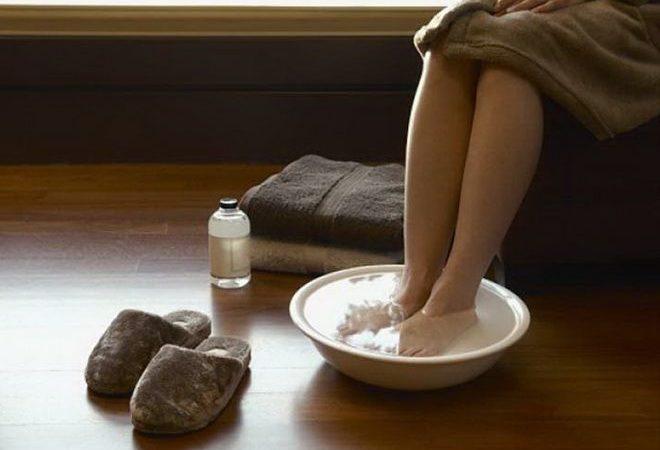 Ванночки с солью при подагре