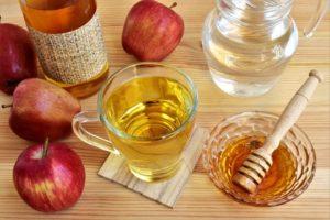 Яблочный уксус при подагре