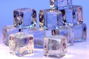 Лед при подагре