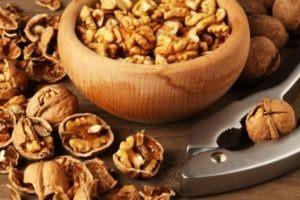 Грецкие орехи при подагре