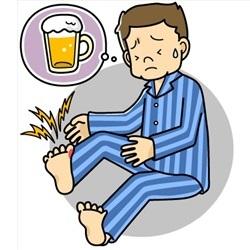Как влияет алкоголь на подагру