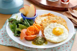 Салат на завтрак при подагре